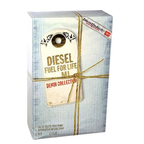Diesel Fuel for Life Denim Edition Eau De Toilette Spray for Women, 2.5 Ounce [2.5 oz]