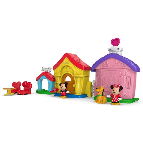 Fisher-Price Little People Magic of Disney Mickey and Minnie's House Playset