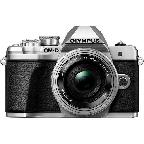 Olympus - OM-D E-M10 Mark III Mirrorless Camera with 14-42mm Lens - Black
