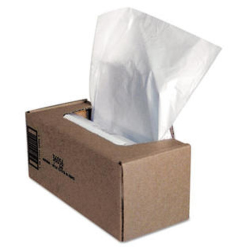 Fellowes Mfg. Co. 36056 Shredder Waste Bags, 25 gal Capacity, 50/CT