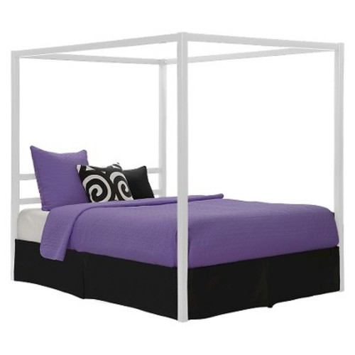Modern Canopy Metal Bed (Queen) - Dorel Home Products