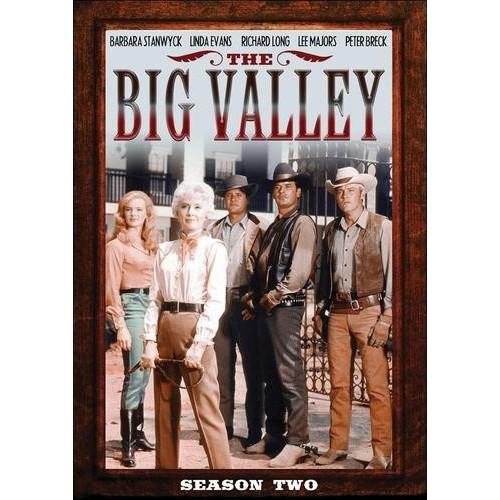 The Big Valley: Season Two [5 Discs] [DVD]