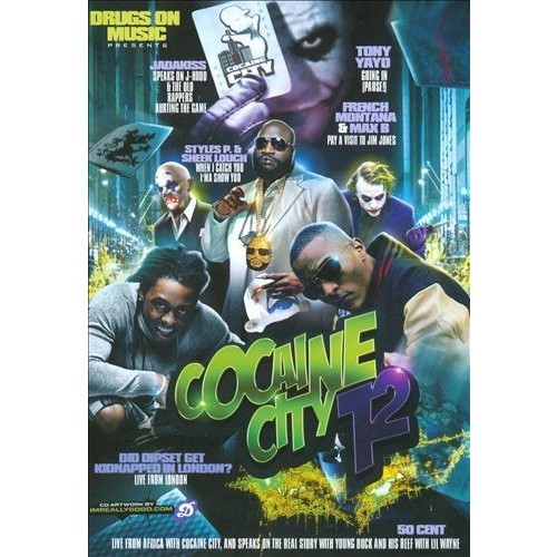 Drugs on Music: Cocaine City, Vol. 12 [DVD] [2008]