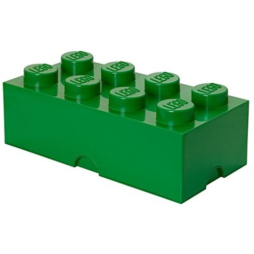 LEGO Storage Brick 8, Dark Green [Dark Green]