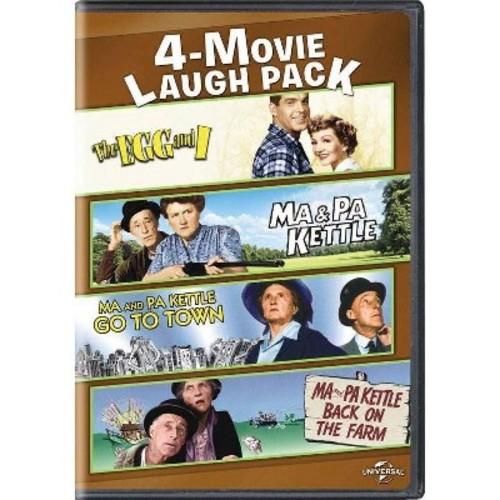 4-Movie Laugh Pack: The Egg And I/Ma & Pa Kettle/Ma And Pa Kettle Go To Town/Ma And Pa Kettle Back On The Farm