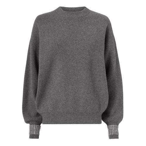 ALEXANDER WANG Crystal Cuff Sweater