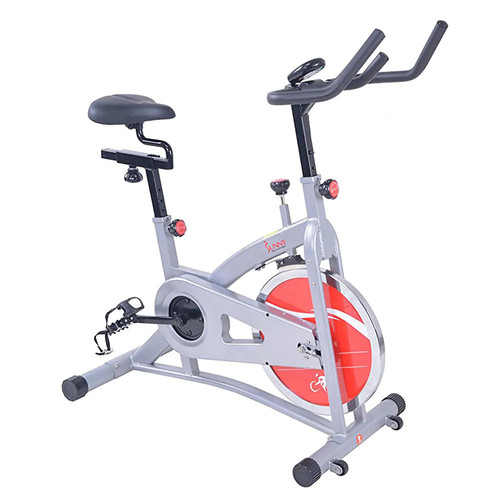 Belt Drive Indoor Cycling Exercise Bike by Sunny Health & Fitness