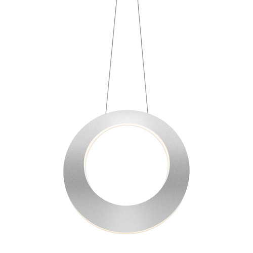 Haro LED Pendant Light [Finish : Bright Satin Aluminum]