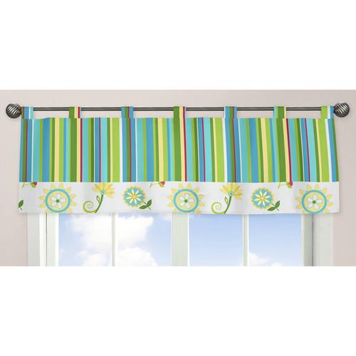 Sweet Jojo Designs Layla Collection Window Curtain Valance