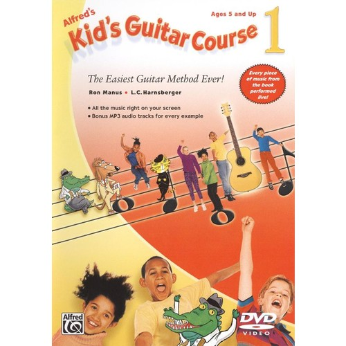 Alfred's Kid's Guitar Course 1 - Beginning Guitar DVD