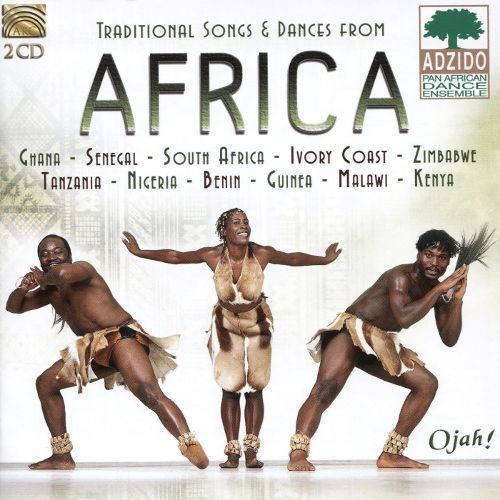 Traditional Songs and Dances from Africa [CD]