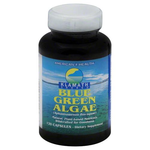 American Health Klamath Blue Green Algae 500mg, 120 caplets