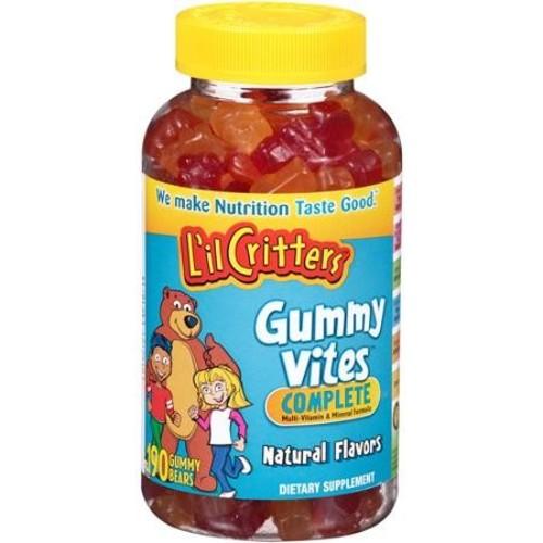 Lil Critters Gummy Vites Multi-Vitamin & Mineral Formula, Gummy Bears, 190 gummy bears