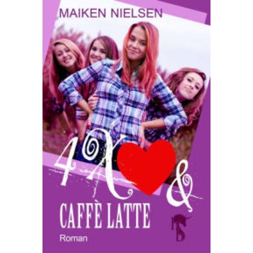 4 x Herz und Caff Latte