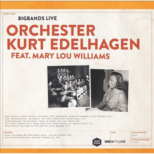 Big Bands Live: Orchester Kurt Edelhagen [LP] - VINYL