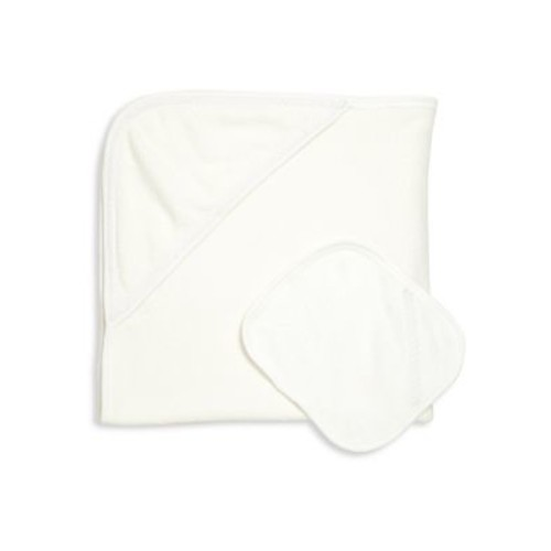 Baby's Two-Piece Hooded Towel & Wash Cloth Set