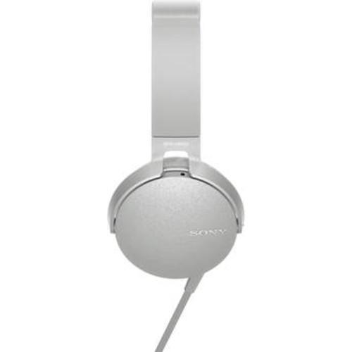 XB550AP EXTRA BASS Headphones (White)