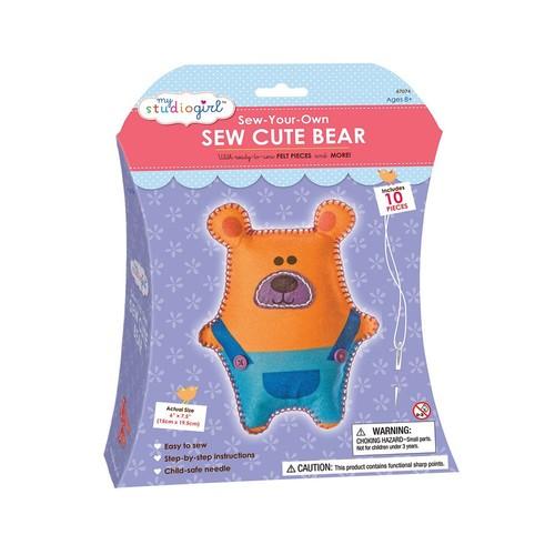 My Studio Girl Sew-Your-Own Sew Cute Bear