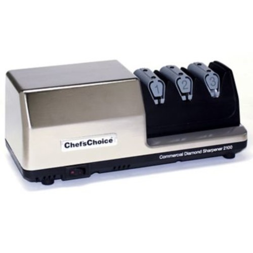 Chef's Choice Commercial EdgeSelect Diamond Hone Electric Knife Sharpener for Straight and Serrated