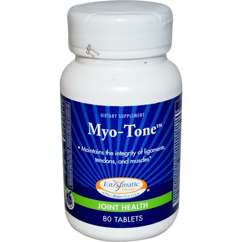 Enzymatic Therapy Myo-Tone -- 80 Tablets