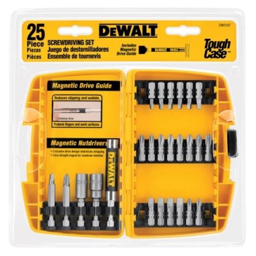 Dewalt 25 Piece Driving Set with Tough Case (DW2167)