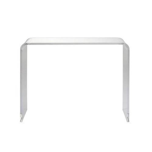 Adhara Acrylic Console Table