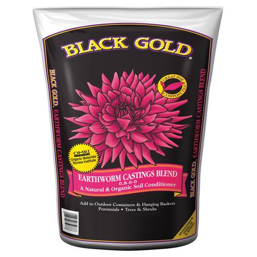 Black Gold 1490302 8 QT P 8 Quart Earthworm Castings Blend