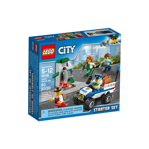 LEGO City Police Starter Set #60136