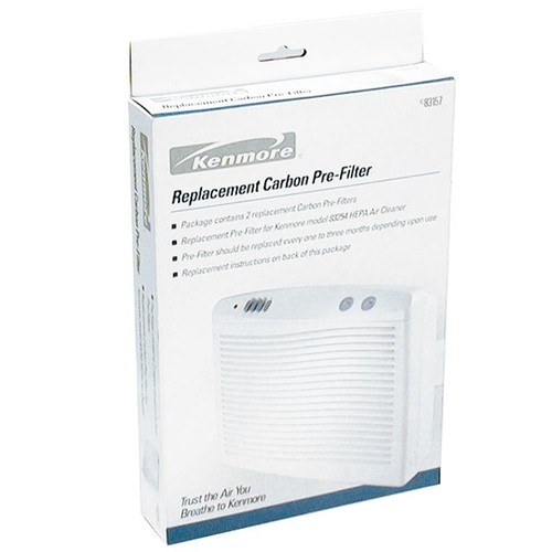 Kenmore PF-K-3 Replacement Carbon Pre-Filter for Large Room Air Purifier 03283396000