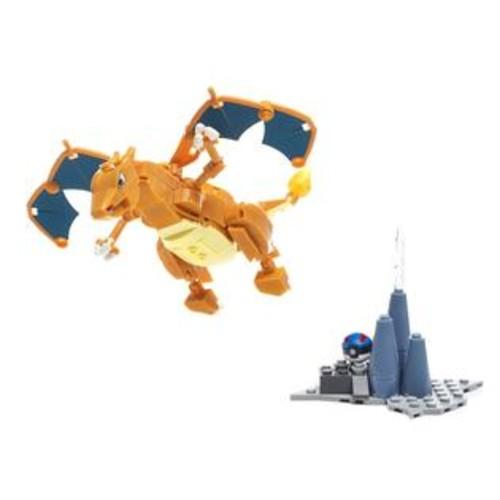 Mega Bloks,Pokemon,Mega Construx Mega Construx Building Set - Pokemon Charizard Figure