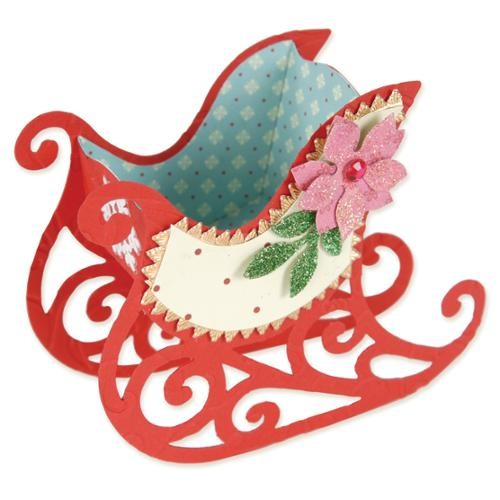 Sizzix Bigz Large Die-Sleigh Favor Box