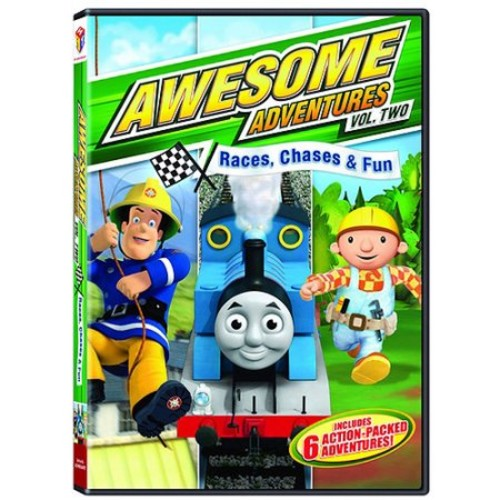 Awesome Adventures, Vol. 2: Races, Chases & Fun [DVD]