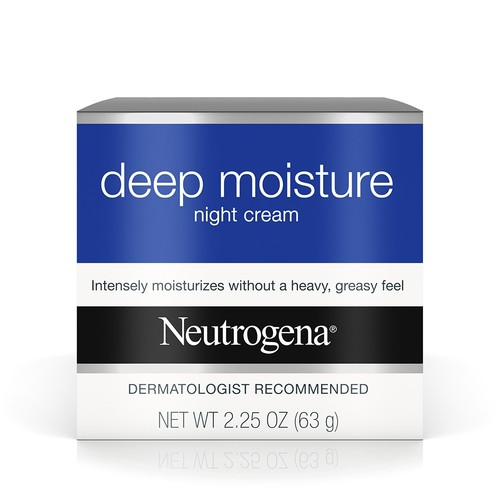 Neutrogena Deep Moisture Night Cream, 2.25oz