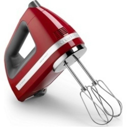 KitchenAid 9-speed Hand Mixer, Empire Red