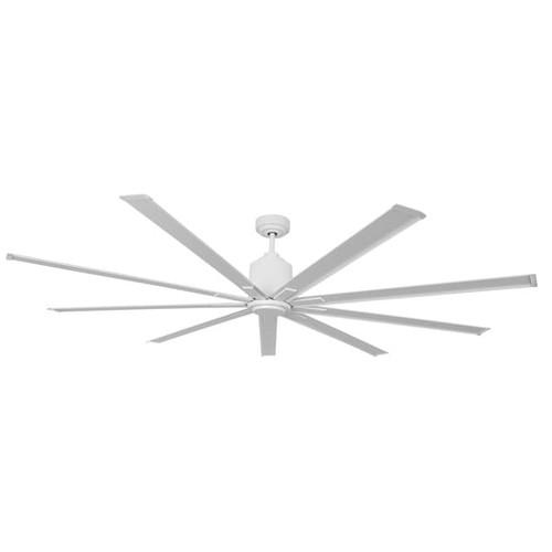 96 Inch Wet Location Industrial Ceiling Fan in White