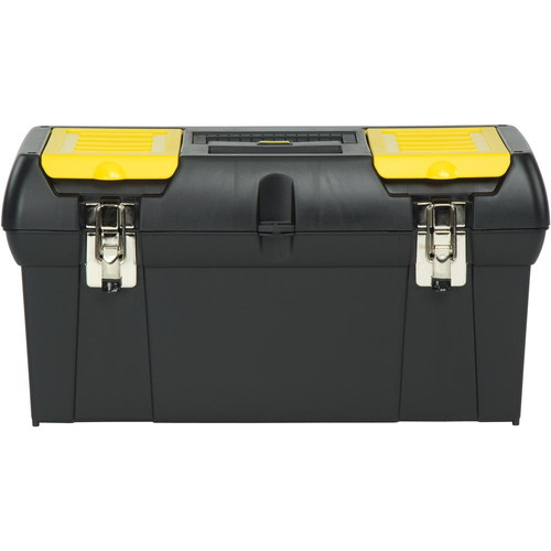 Stanley Series 2000 Metal Latch Tool Box With Tote Tray, 24 In. - 286934