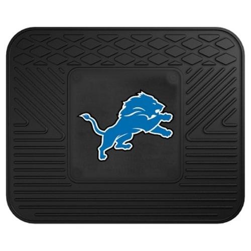 FANMATS NFL Detroit Lions Vinyl Utility Mat [Rear]