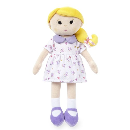 You & Me My Lovely Blonde Girl 14 inch Rag Doll