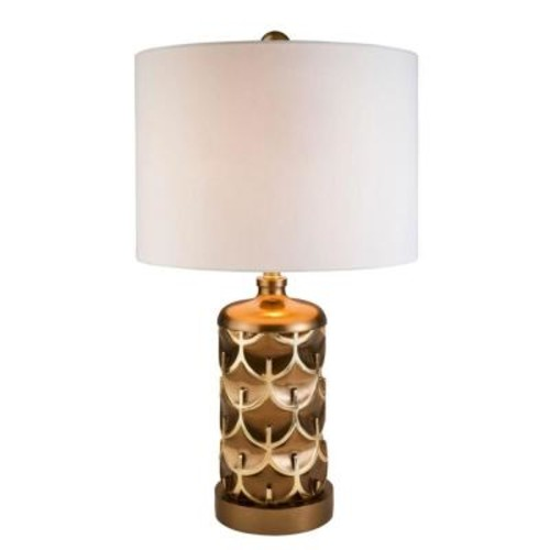 ORE International 28.5 in. Mystic Owl Table Lamp