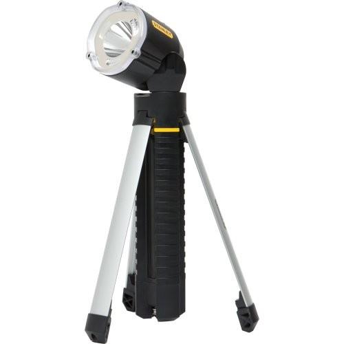 Stanley Hand Tools Tripod Flashlight [Black]