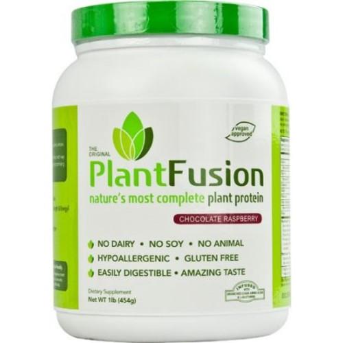 PlantFusion Multi Source Plant Protein, Chocolate Raspberry, 1 lb