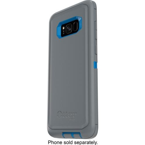 OtterBox - Defender Series Case for Samsung Galaxy S8+ - Gray/blue