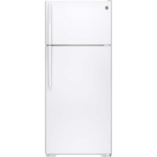 GTE18CTHWW 17.5 cu. ft. Top-Freezer Refrigerator - White