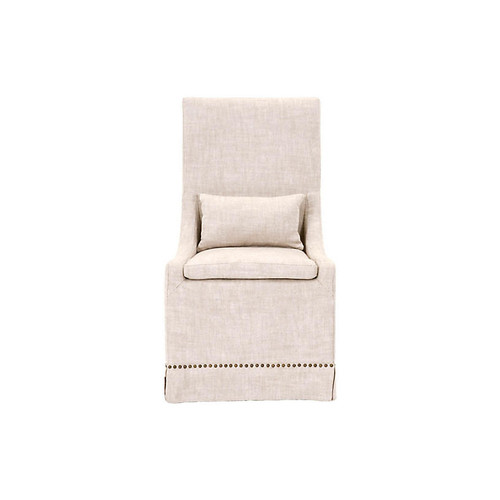 Colleen Side Chair, Bisque Linen