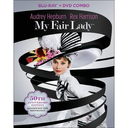 My Fair Lady [50th Anniversary Edition] [3 Discs] [Blu-ray/DVD] [1964]