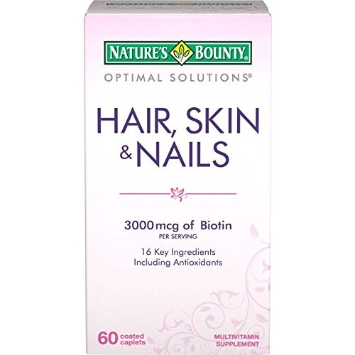 Natures Bounty Hair, Skin & Nails, Caplets, 60 caplets