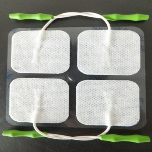 Prospera TENS Electronic Pulse Massager Replacement Pads in White (Set of 4)