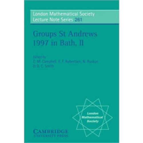 Groups St Andrews 1997 in Bath, Volume 2