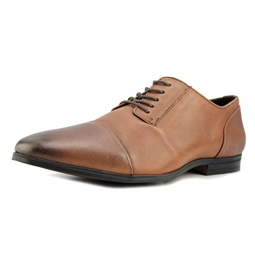 Alfani Monroe Cap Toe Cap Toe Leather Oxford