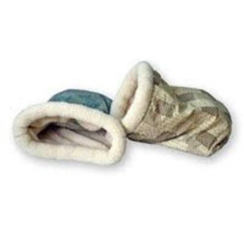 K&H Kitty Crinkle Sack Cat Bed [Teal]